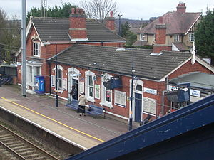 Transport in Luton - Leagrave railway station