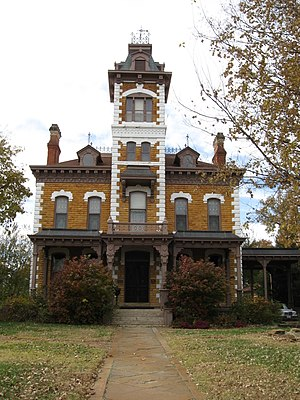 Abilene, Kansas - Lebold Mansion