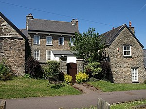 Grade II* listed buildings in Mid Devon - Image: Leburn House, Bampton (geograph 2450171)