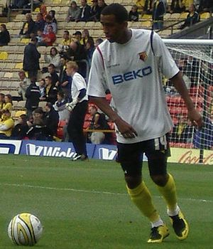 Lee Williamson - Williamson training for Watford in 2008