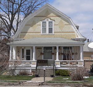 National Register of Historic Places listings in Sheridan County, Nebraska - Image: Lee and Gottliebe Fritz house from E 1