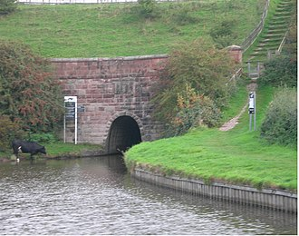 Caldon Canal - The southern portal of Leek Tunnel