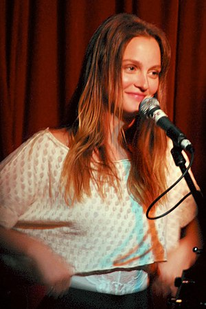 Leighton Meester - Meester performing in May 2011