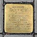 Stolperstein für Walter Heise