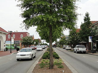 Lexington, South Carolina - A view of Lexington's Main Street.