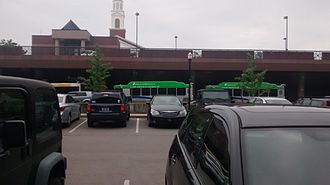 Lextran - The first day of running the new Gillig CNG powered buses from Water Street.