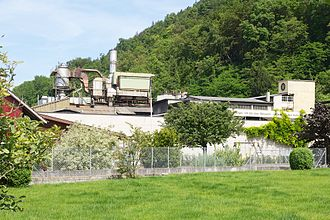Liestal - Secondary sector: casting plant Erzberg in Liestal