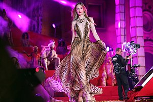 Eva Riccobono - Eva Riccobono, Cavalli fashion show at Life Ball 2013