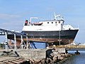Liisi at Noblessner Shipyard Tallinn 11 September 2013.JPG