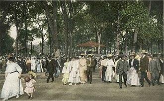 Lincoln Park - A concert in Lincoln Park circa 1907