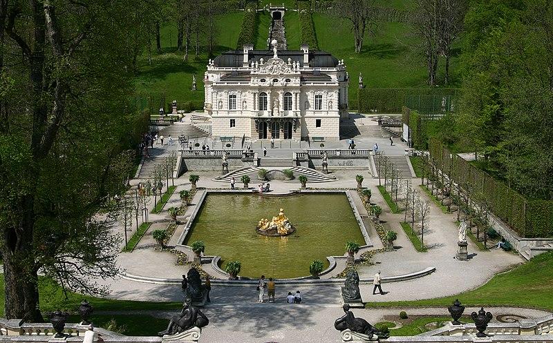Linderhof - Pałac