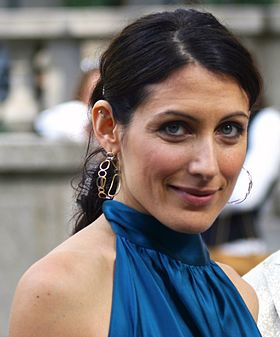 Lisa Edelstein, le 9 avril 2007 à la Mercedes-Benz Fashion Week 2007