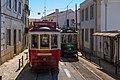 Lisboa, Rua das Escolas Gerais, bondes.jpg