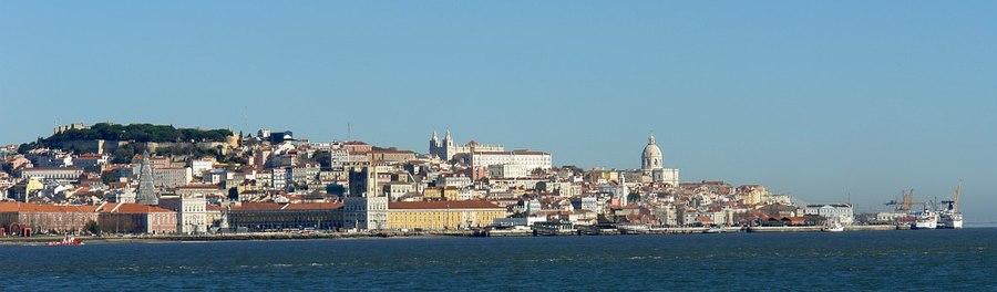 Parta vido al olda kvartalo de Lisbono