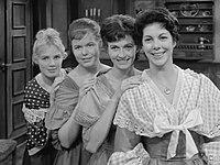 Liselot Beekmeyer, Marja Habraken, Lies Franken, Ann Hasekamp (1961).jpg