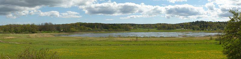 Lissmasøen set fra søens nordside, maj 2012.