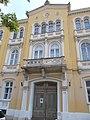 Listed dwelling house ID 3925. Mid part, detail. Romantic, circa 1860, by Miklós Ybl. - 10, Vörösmarty Square., Székesfehérvár, Fejér county, Hungary.JPG