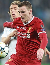 94de618ab Liver-RM (10).jpg. Robertson playing for Liverpool ...