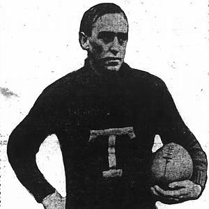1904 College Football All-Southern Team - Lob Brown.
