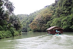 Cruising Loboc River