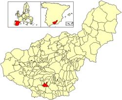 Vị trí của El Pinar