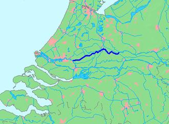 Lek (river) - Image: Location Lek