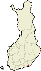 Location of Miehikkälä in Finland.png