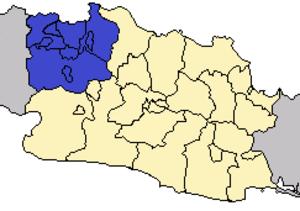 Greater Jakarta - Image: Locator DKI Jabodetabek
