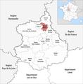 Locator map of Kanton Dreux-2 2019.png