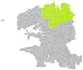 Locquénolé (Finistère) dans son Arrondissement.png