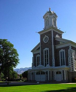 Cache County, Utah - Image: Logan Tabernacle (Logan, UT)