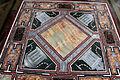 Loggetta del tempo, tavolo con piano intarsiato in pietre dure e disegni raffaelleschi 02.JPG