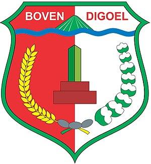 Boven Digoel Regency - Image: Logo BOVENDIGOEL