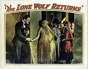 The Lone Wolf Returns (1926 film) - Lobby card