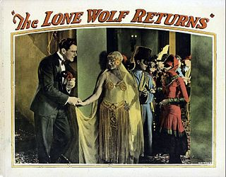 <i>The Lone Wolf Returns</i> (1926 film) 1926 film by Ralph Ince