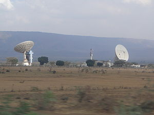 Mount Longonot - Longonot Earth Station 2010