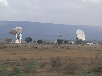 Mount Longonot - Longonot Earth Station 2010