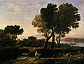 Lorrain - Landscape with Apollo guarding the Cattle of Admetus and Mercury stealing them.jpg