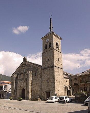 Iglesia Parroquial de Santaigo Apóstol (Losar de la Vera)