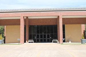 Diboll, Texas - Lottie and Arthur Temple Civic Center in Diboll
