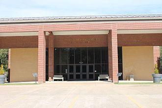Diboll, Texas - Lottie and Arthur Temple Civic Center in Diboll