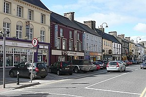 Loughrea - Loughrea Main Street.