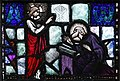 Loughrea St. Brendan's Cathedral East Aisle John the Evangelist by Michael Healy Detail Revelation of Jesus Christ to John of Patmos 2019 09 05.jpg