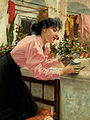 Louis Uhl Junge Frau beim Blumengießen 1896.jpg