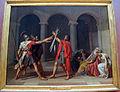 Louis david, giuramento degli orazi, 1784.JPG