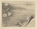 Louise Danse - Les lys de morteraine - Graphic work - Royal Library of Belgium - S.III 41319.jpg