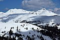 Loveland Pass Snowy Mountain Peaks and Clouds.jpg