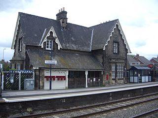 Lowdham railway station Grade II listed railway station in Lowdham, England