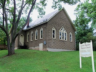 Rapidan, Virginia - Image: Lower Rapidan Baptist Church in Rapidan, Virginia