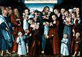 Lucas Cranach the Younger, Christ blessing the Children, Dresden Gemäldegalerie Alte Meister.jpg